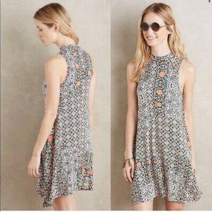 Anthropologie Maeve Lilt Swing Dress